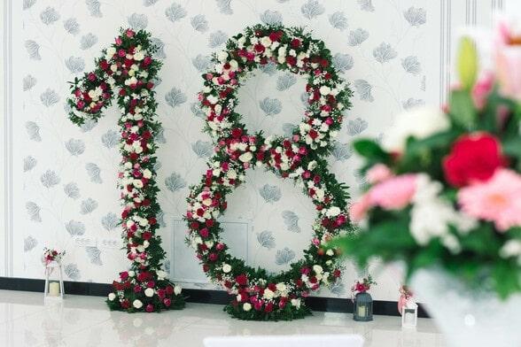 dekoracija broj 18 osamnaest