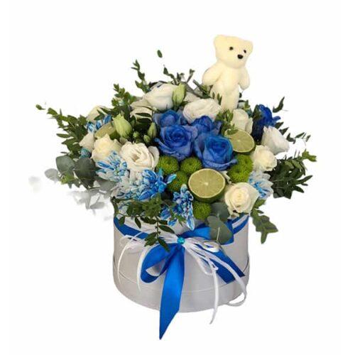 Flower box sa limetom