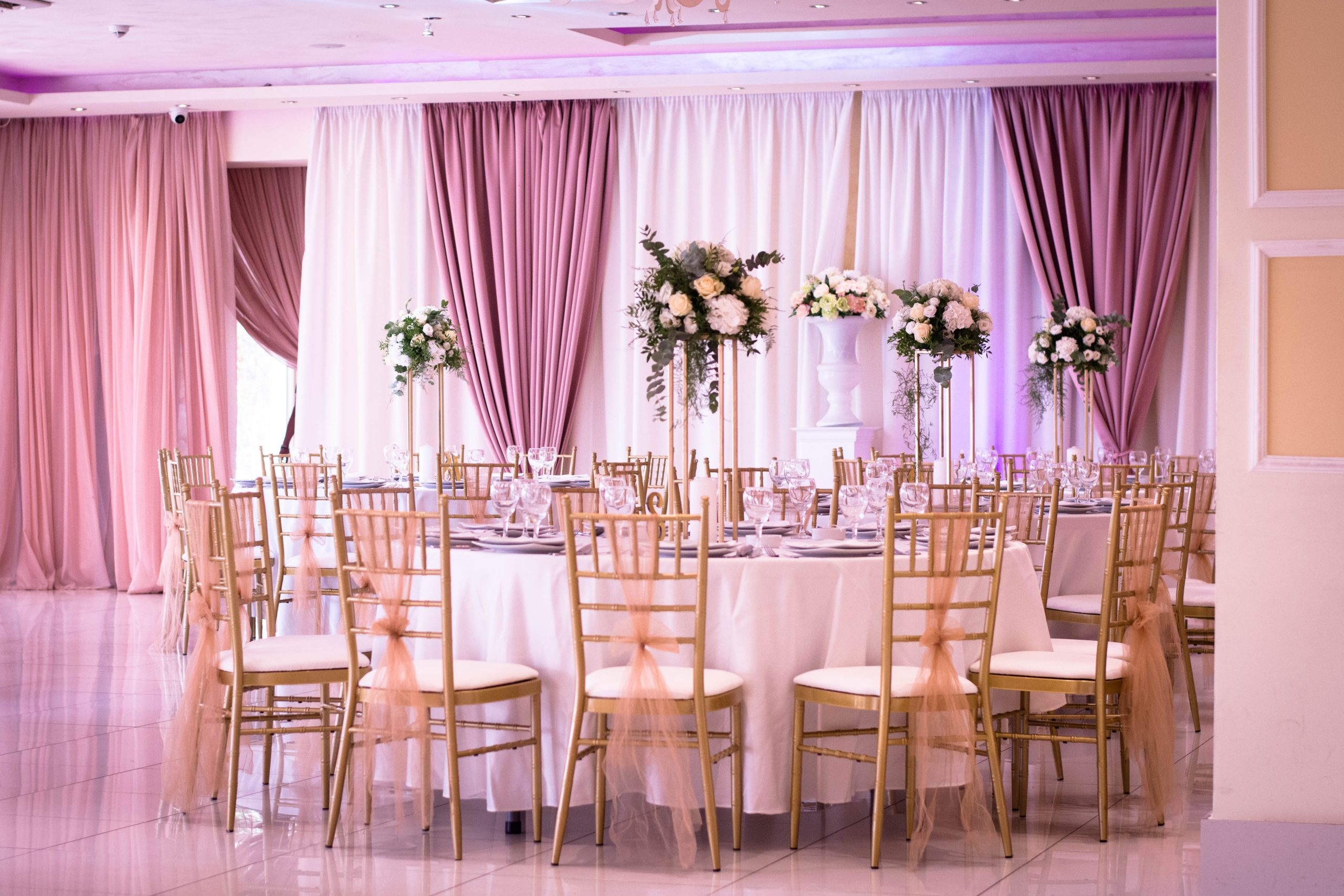 Cvetna dekoracija svadbe