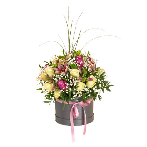 Flower in box