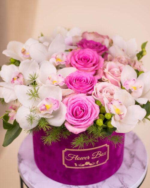 Orhideje i ruže box