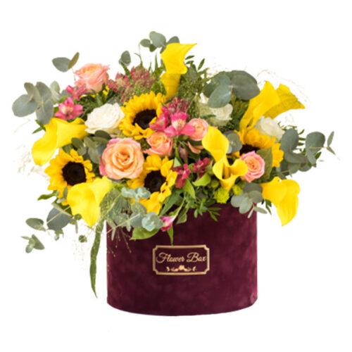 Suncokret flower box